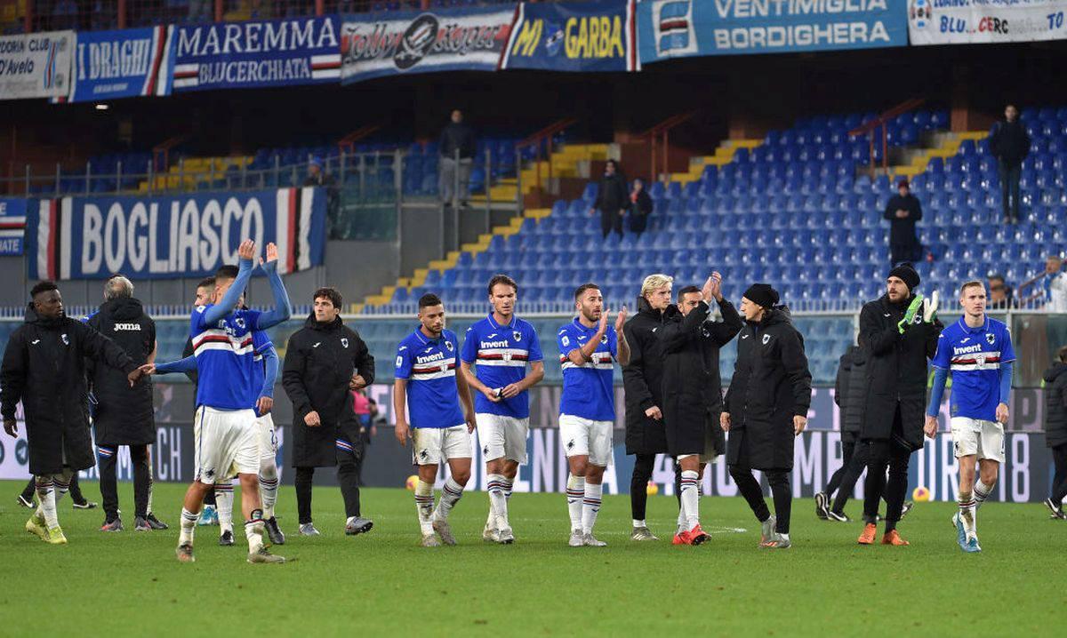 """Sampdoria-Udinese si gioca. Ecco il via libera: """"Non ci sono problemi"""""""