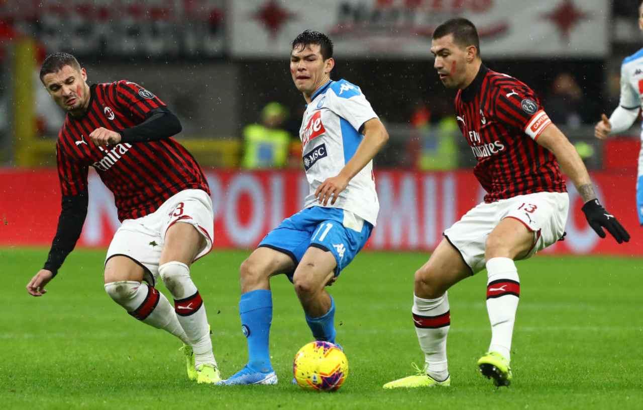 Milan-Napoli, dove seguire il match in streaming (Getty Images)