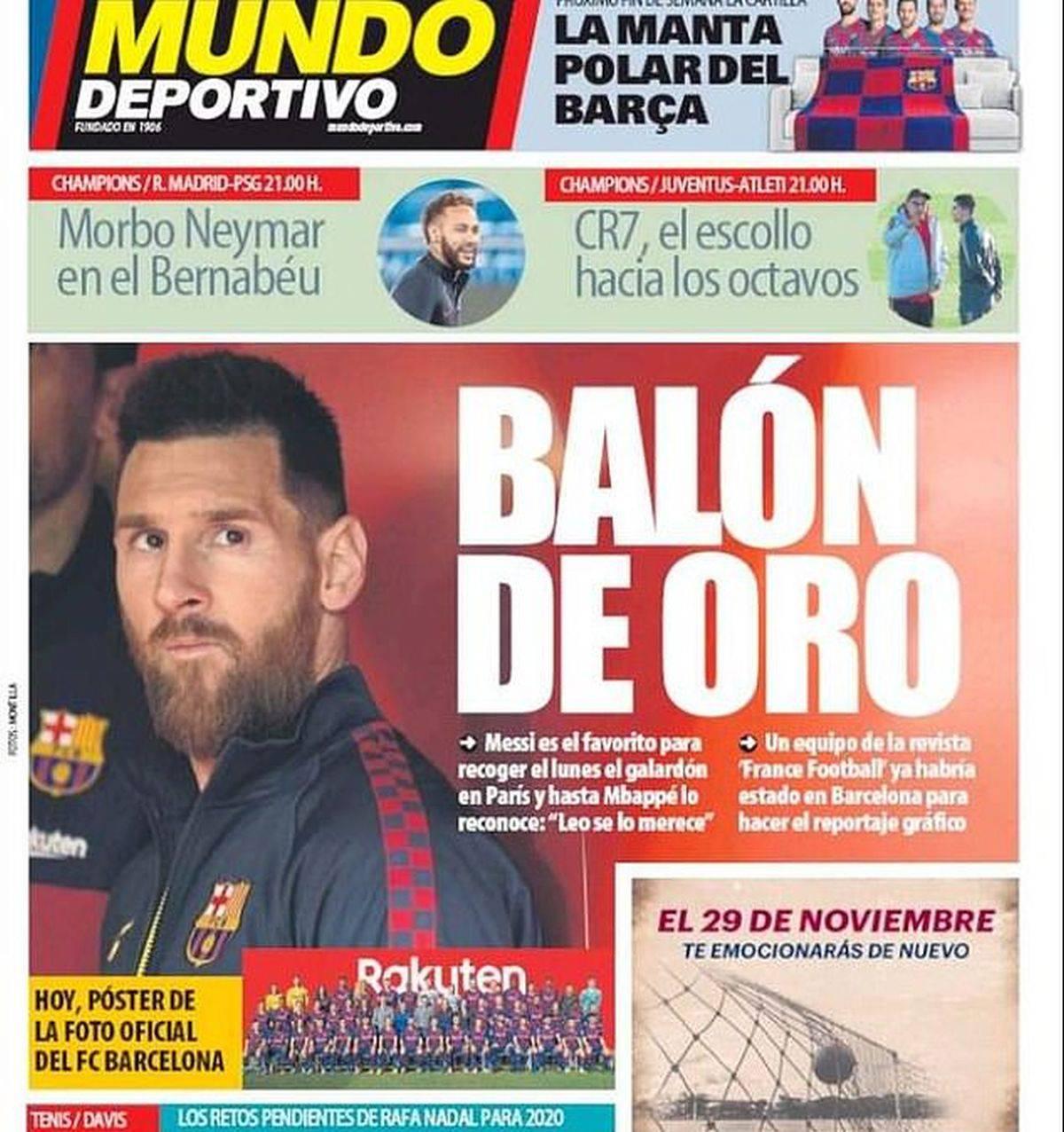 Messi Pallone d'Oro 2019. In Spagna certi: davanti a Cristiano Ronaldo e Van Dijk