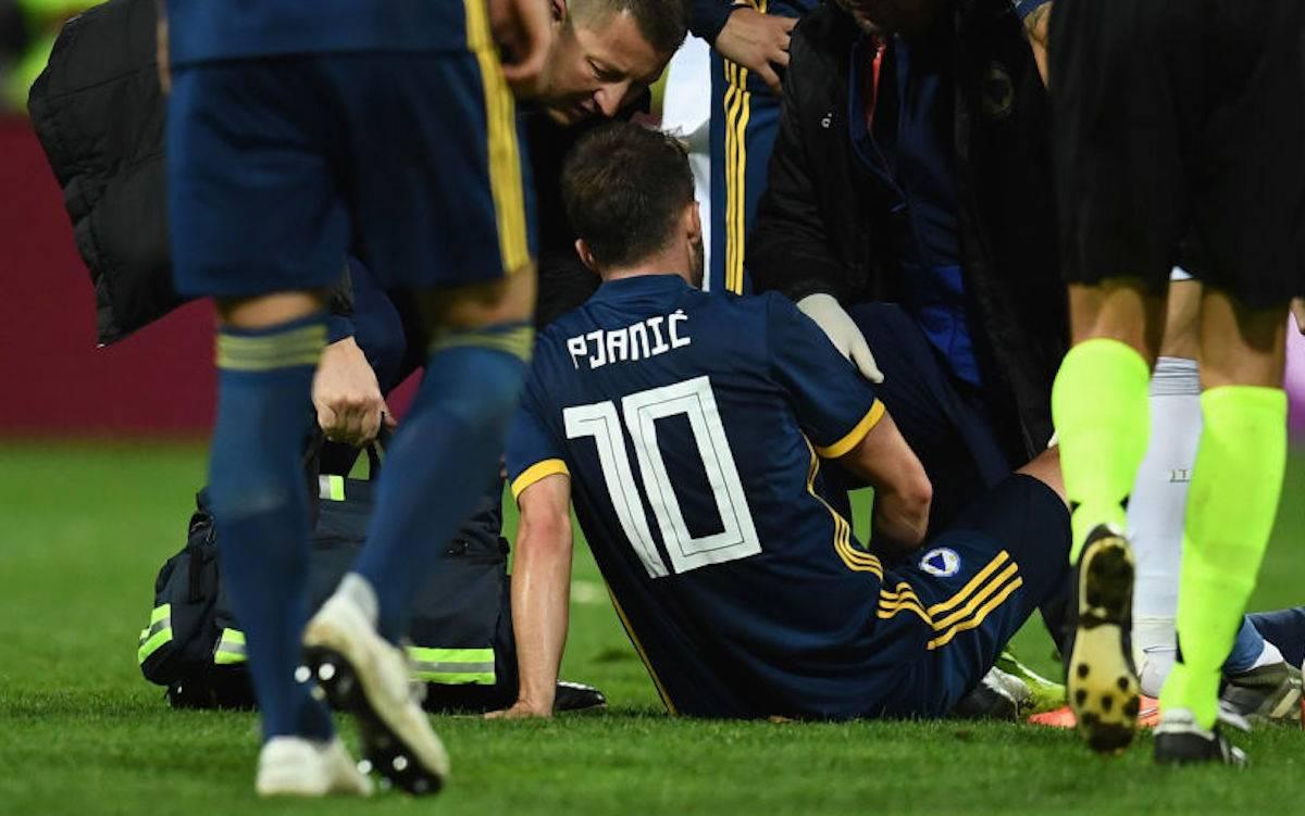 """Juventus, Pjanic parla dell'infortunio: """"Non credo sia grave"""""""