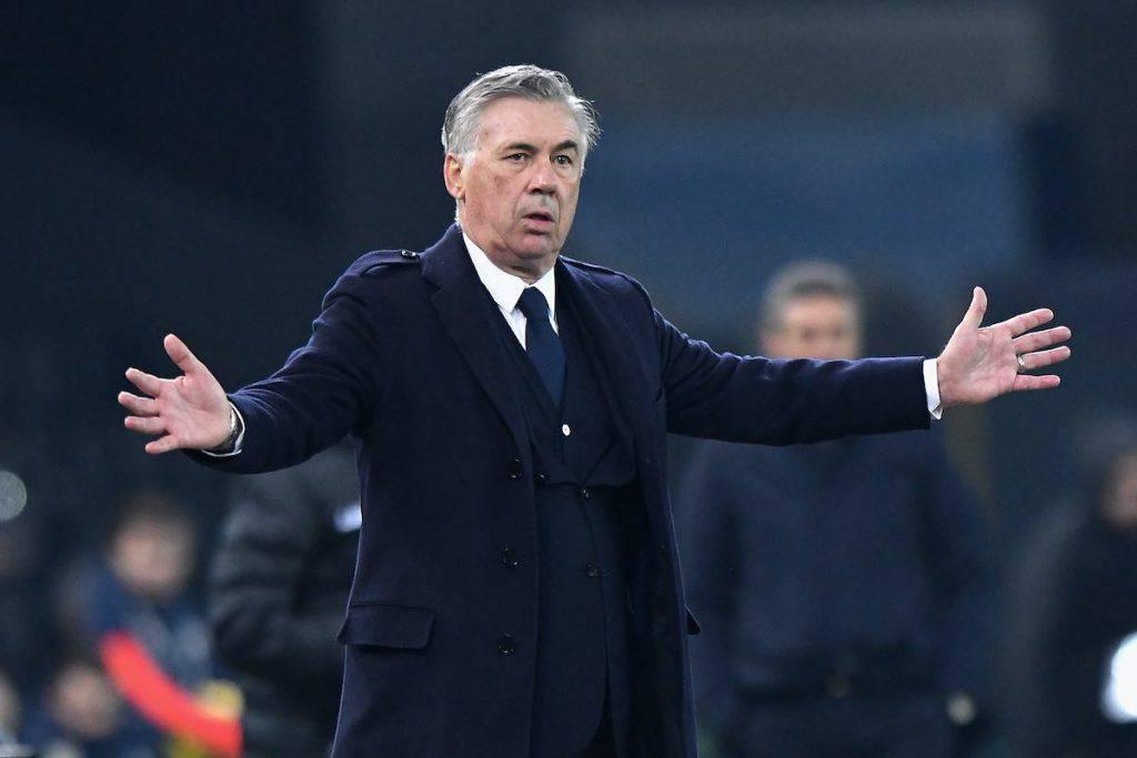 Ancelotti nel post gara contro l'Udinese