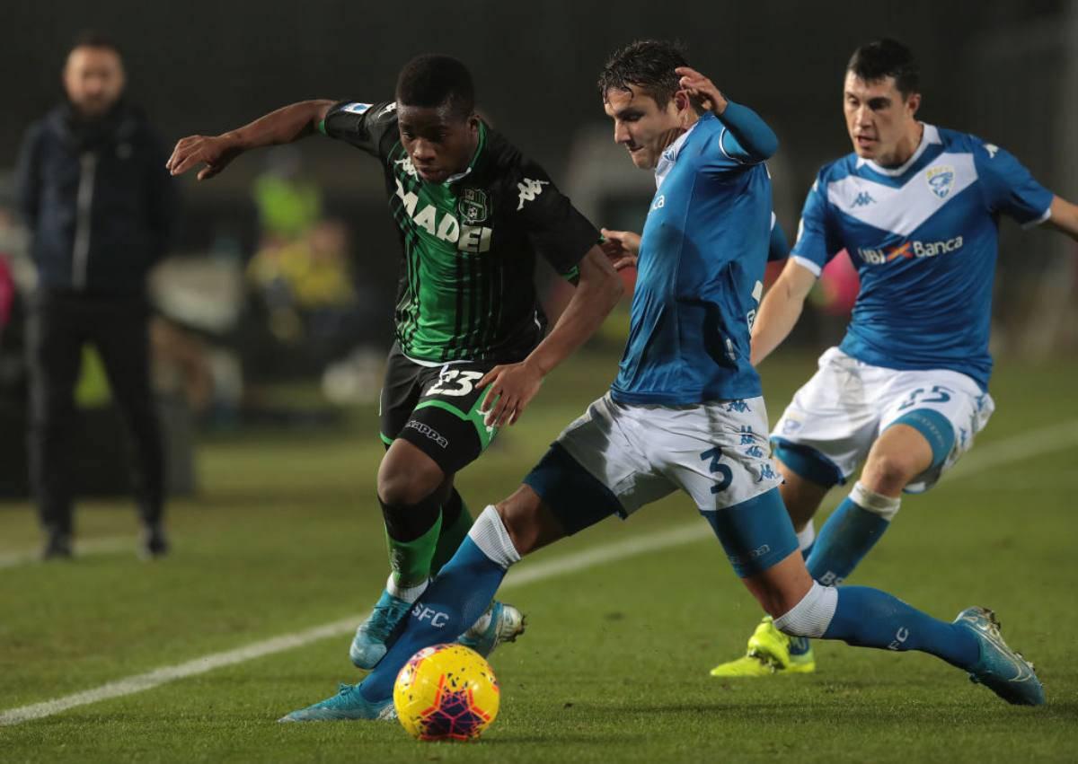 Brescia Sassuolo Highlights
