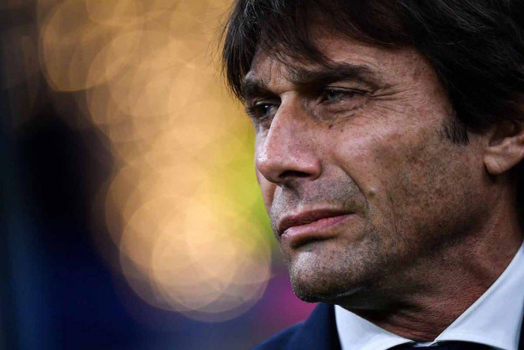 Conte nel post gara di Inter-Genoa