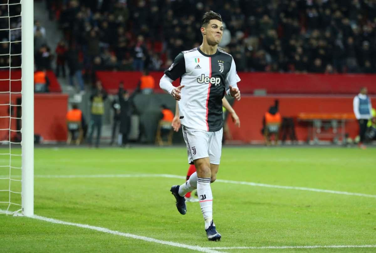 Cristiano Ronaldo a segno in Champions League