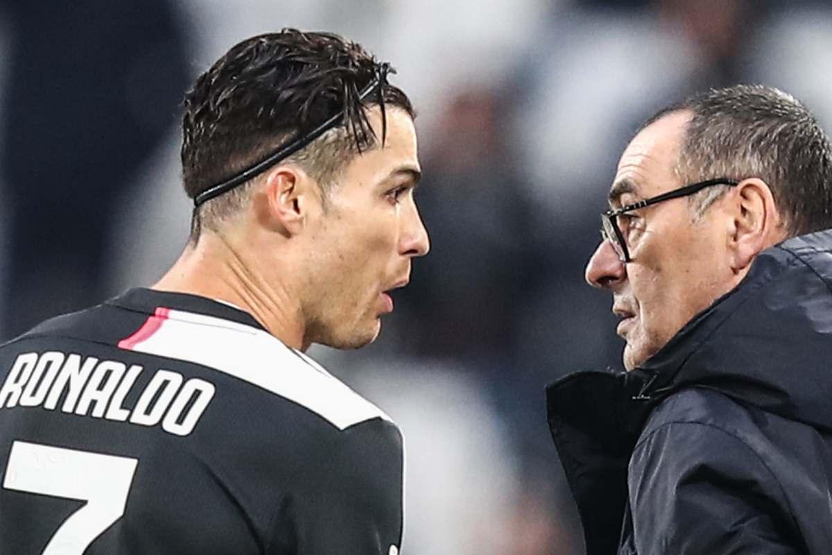 Cristiano Ronaldo Sarri Juventus (Getty Images)