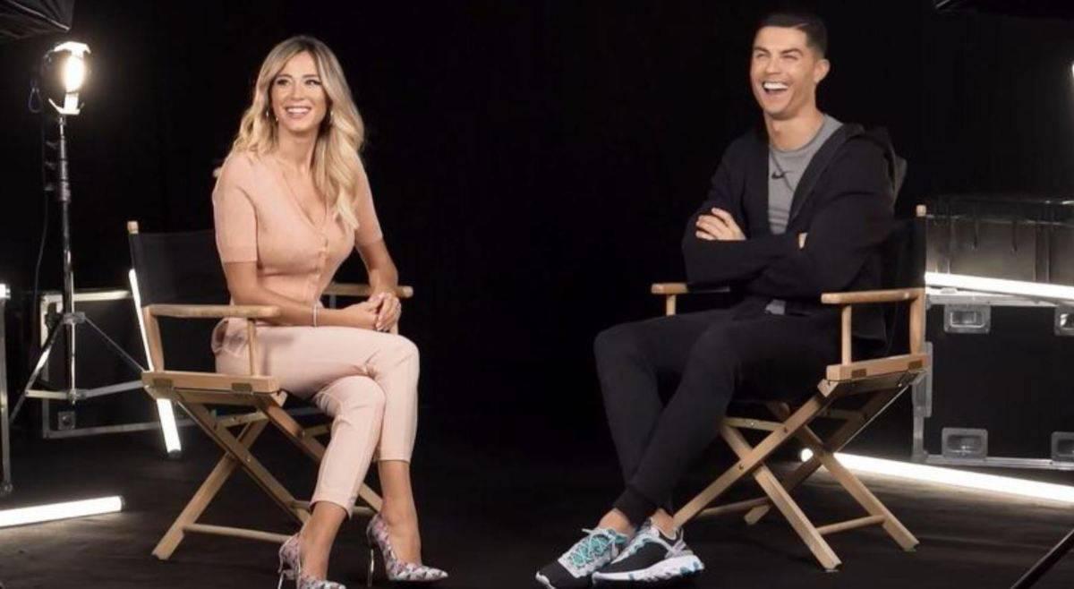"""Cristiano Ronaldo intervistato da Diletta Leotta: """"Il migliore in Serie A sono io. Non ho difetti. Il mio gol più bello è..."""""""