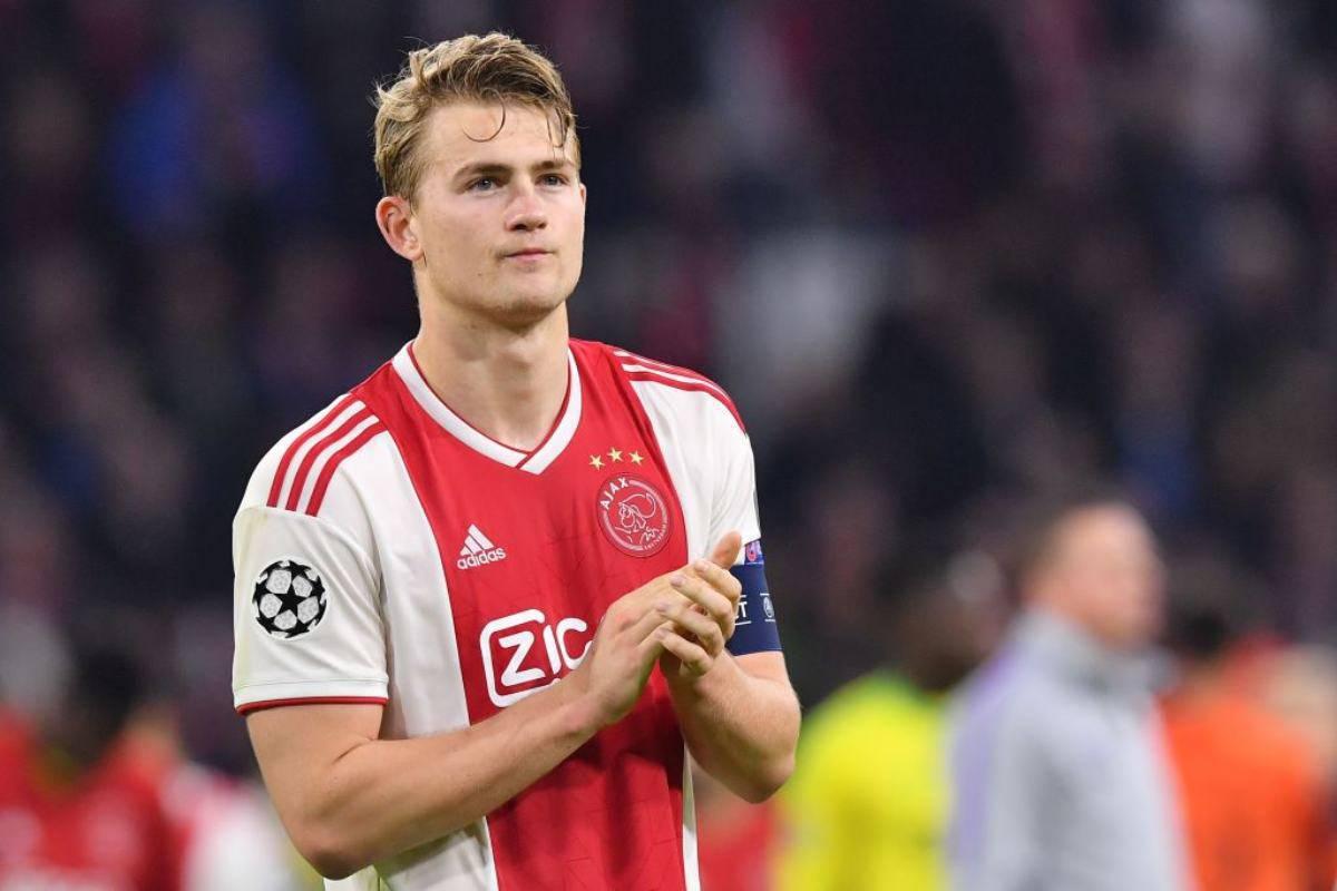 De Ligt, protagonista con l'Ajax lo scorso anno