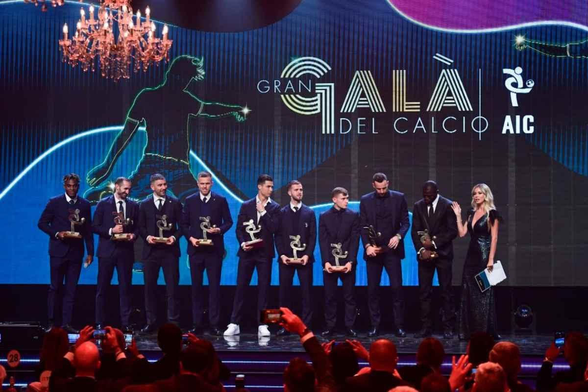 Diletta Leotta, gaffe con Handanovic al Gran Galà del Calcio