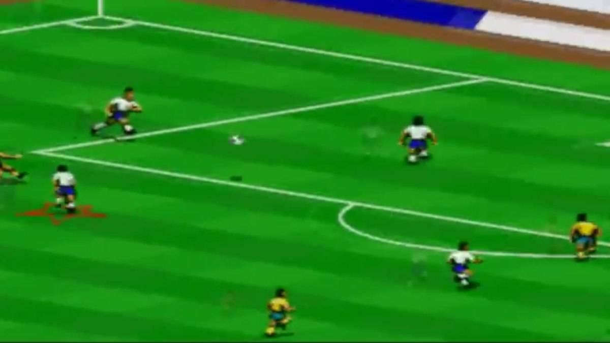 Un frame di Fifa 94
