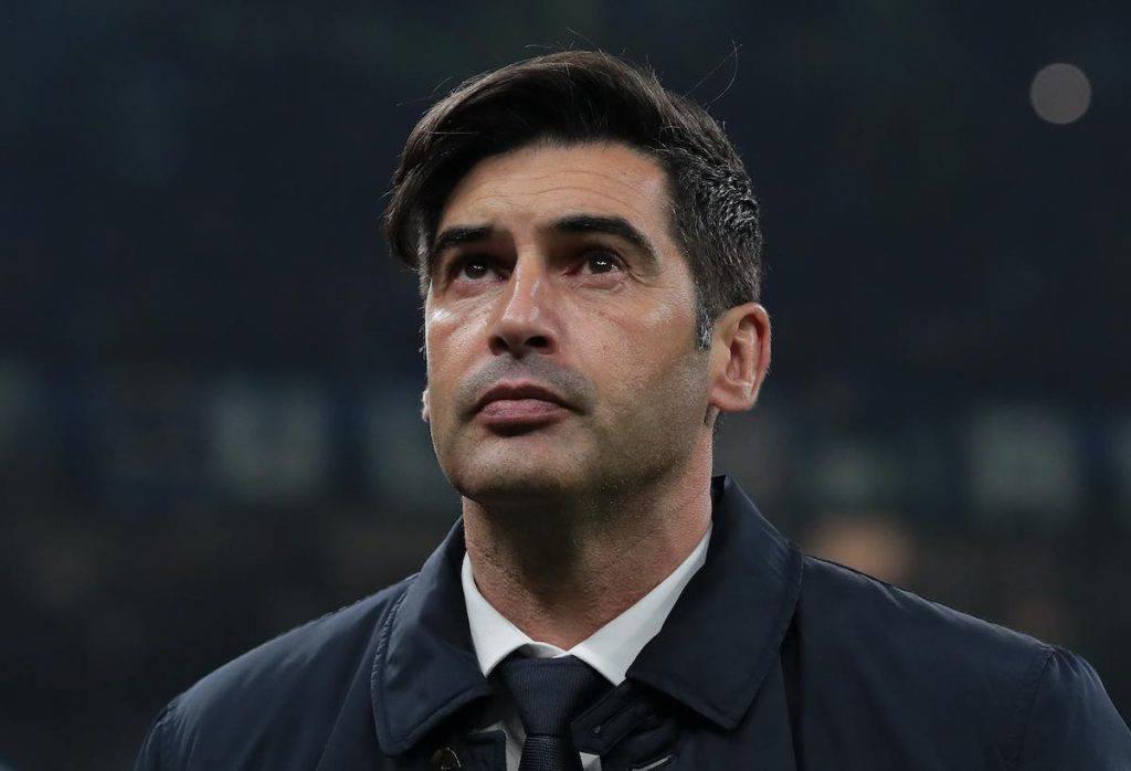 Fonseca nel post gara contro l'Inter
