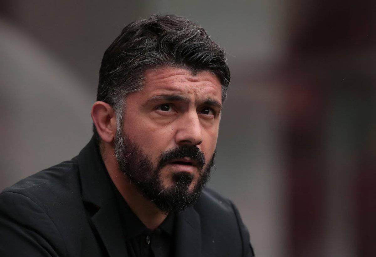 Gattuso, conferenza stampa presentazione Napoli