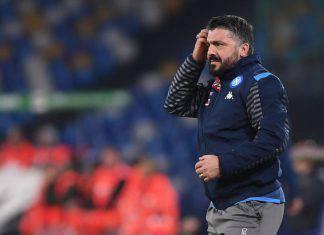 Napoli, Gattuso preoccupato: assenze pesanti contro l'Inter