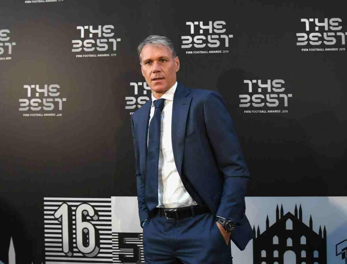 Van Basten, FIFA 20 lo esclude per la frase nazista