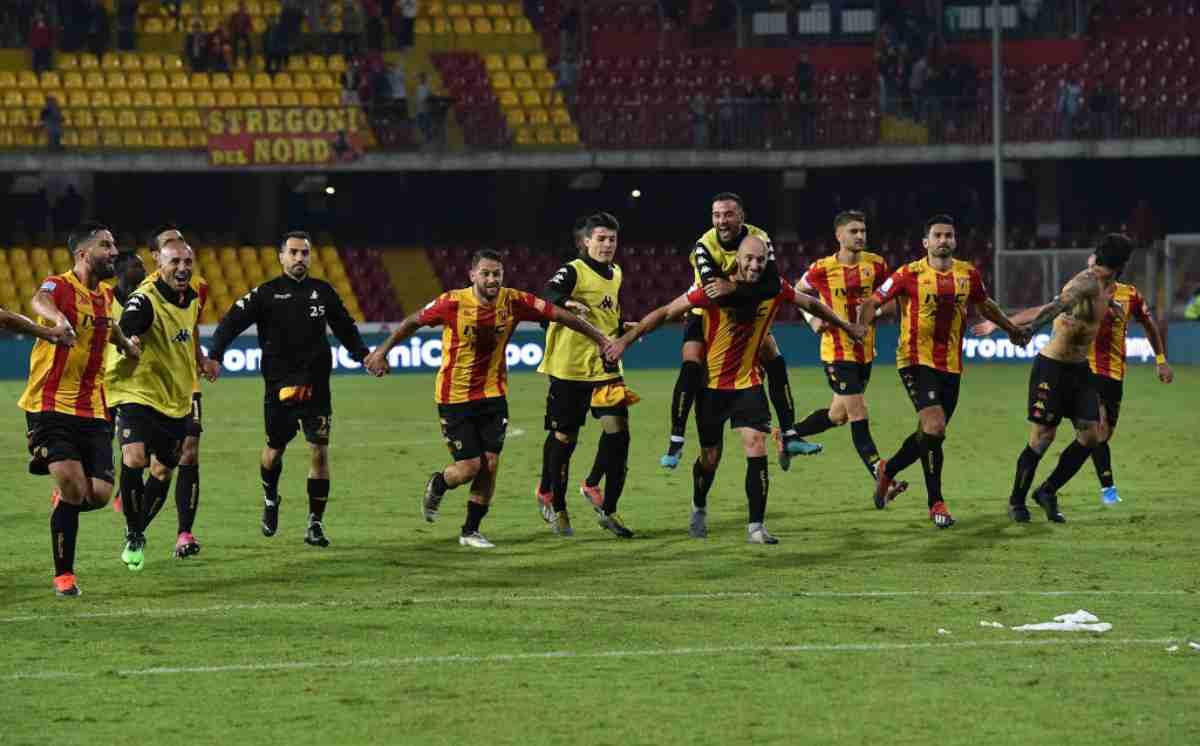 Serie B: corazzata Benevento, piegato l'Ascoli. Settima vittoria di fila e record di punti