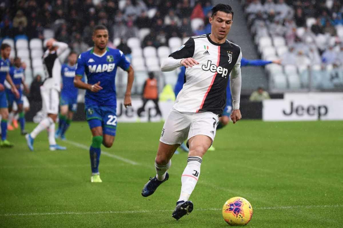 LIVE Juventus-Sassuolo, diretta risultato in tempo reale