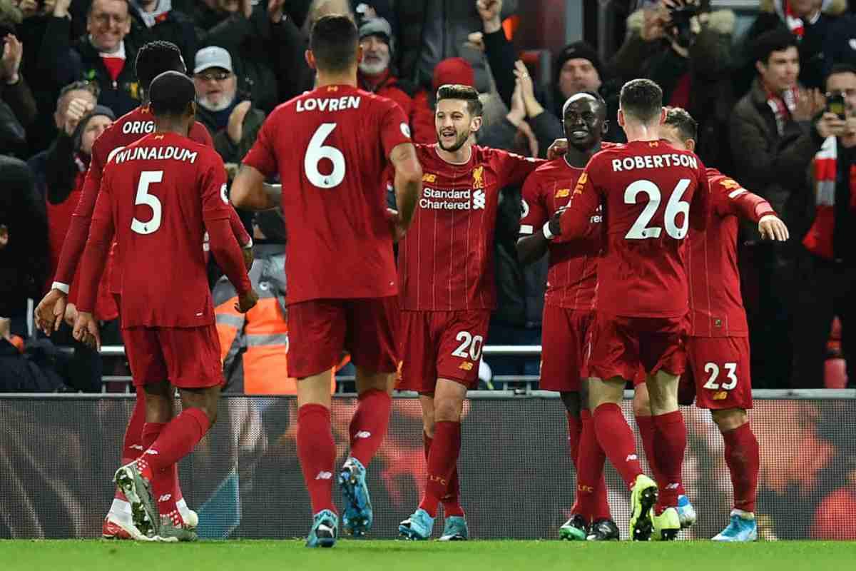 Premier League: il Liverpool ne fa cinque, crolla l'Everton nel derby