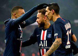 Ligue 1: Mbappé-Neymar gol, il PSG batte il Nantes e vola a +5 sul Marsiglia