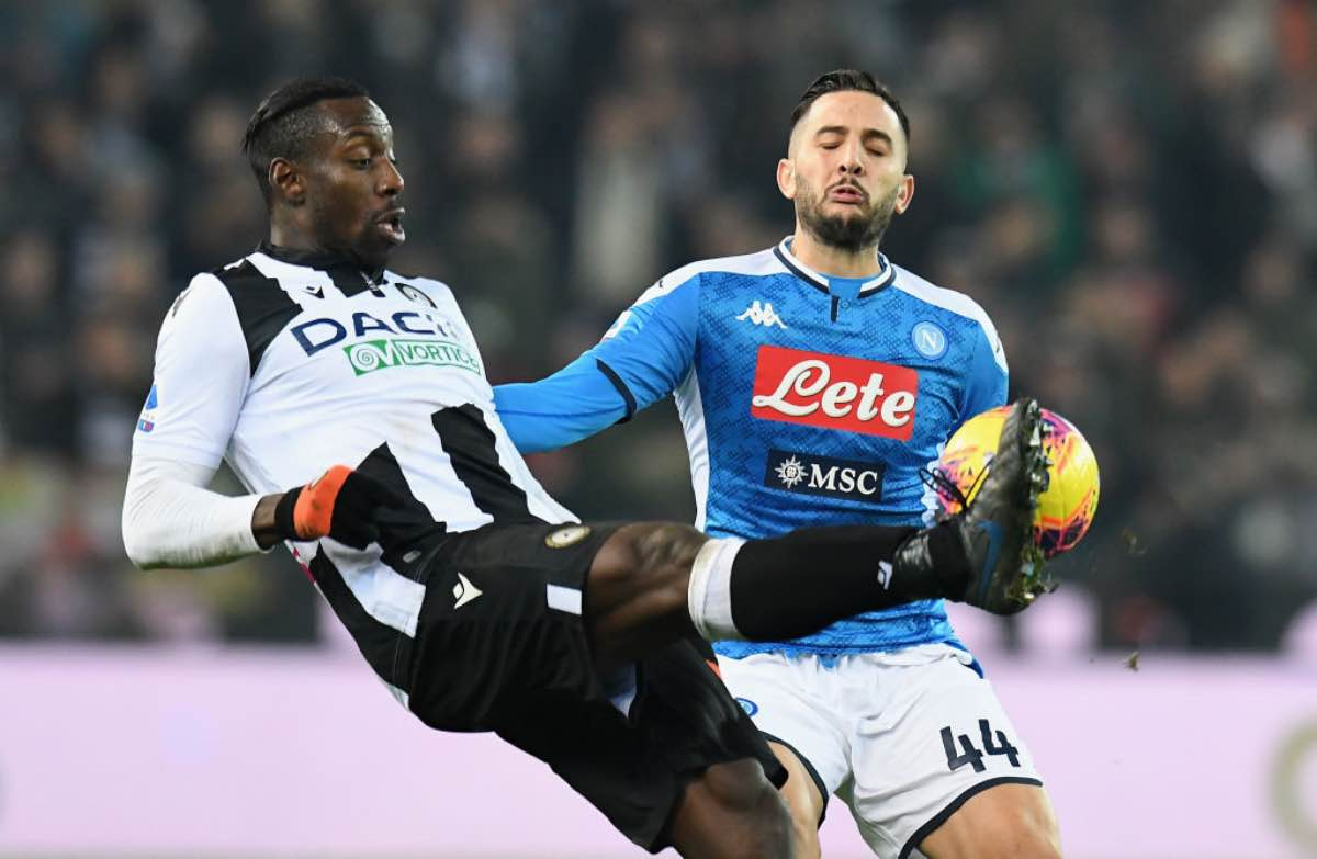Serie A, highlights Udinese-Napoli: gol e sintesi del match - VIDEO