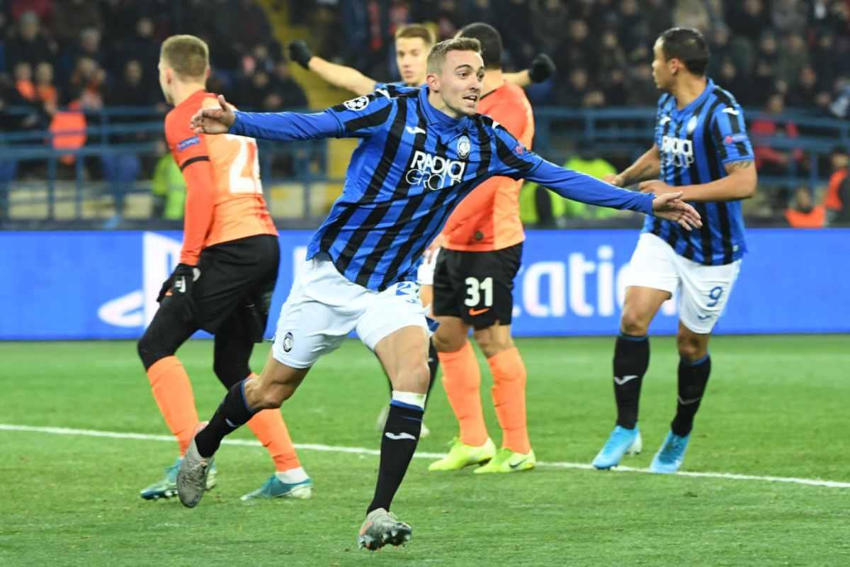 Shakhtar-Atalanta 0-3: Castagne e Pasalic scrivono la storia. La Dea agli ottavi di Champions