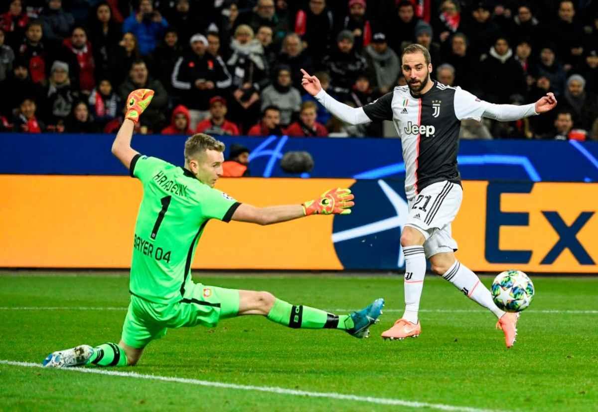 LIVE Bayer Leverkusen-Juventus, diretta risultato in tempo reale
