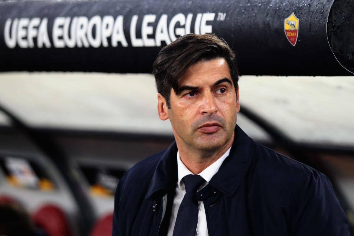 """Roma, Fonseca striglia i suoi: """"Vincere l'Europa League? Non con questo atteggiamento"""""""