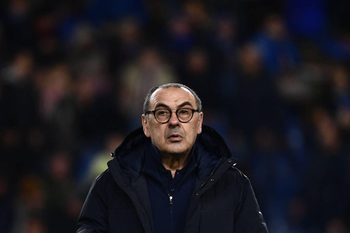 """Juventus, parla Sarri: """"Alti e bassi, serve tempo, vogliamo vincere. E' successo anche a Klopp. Napoli nel cuore"""""""