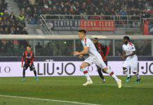 Bologna-Milan 2-3: vittoria con brivido dei rossoneri, Napoli a -1