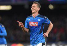 Napoli-Genk 4-0, tripletta di Milik e Mertens: azzurri agli ottavi