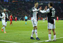 Bayer Leverkusen-Juventus 0-2, Cristiano Ronaldo e Higuain: i bianconeri chiudono in bellezza