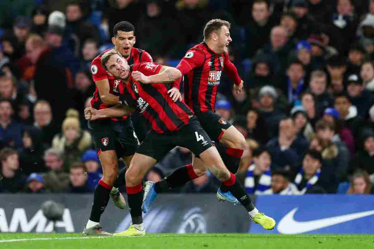 Premier League, risultati 14 dicembre: tonfo Chelsea contro il Bournemouth, frena il Leicester