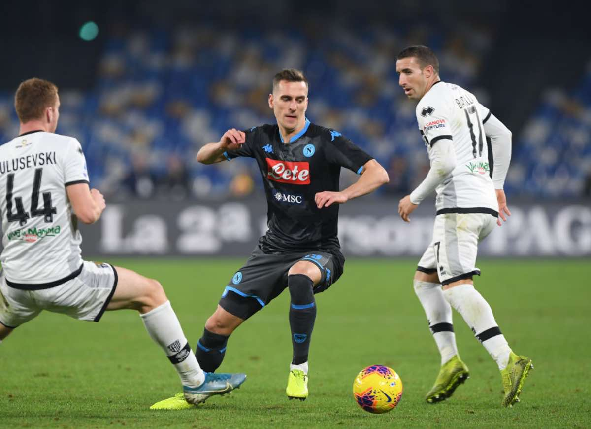 Serie A, highlights Napoli-Parma, gol e sintesi del match - VIDEO