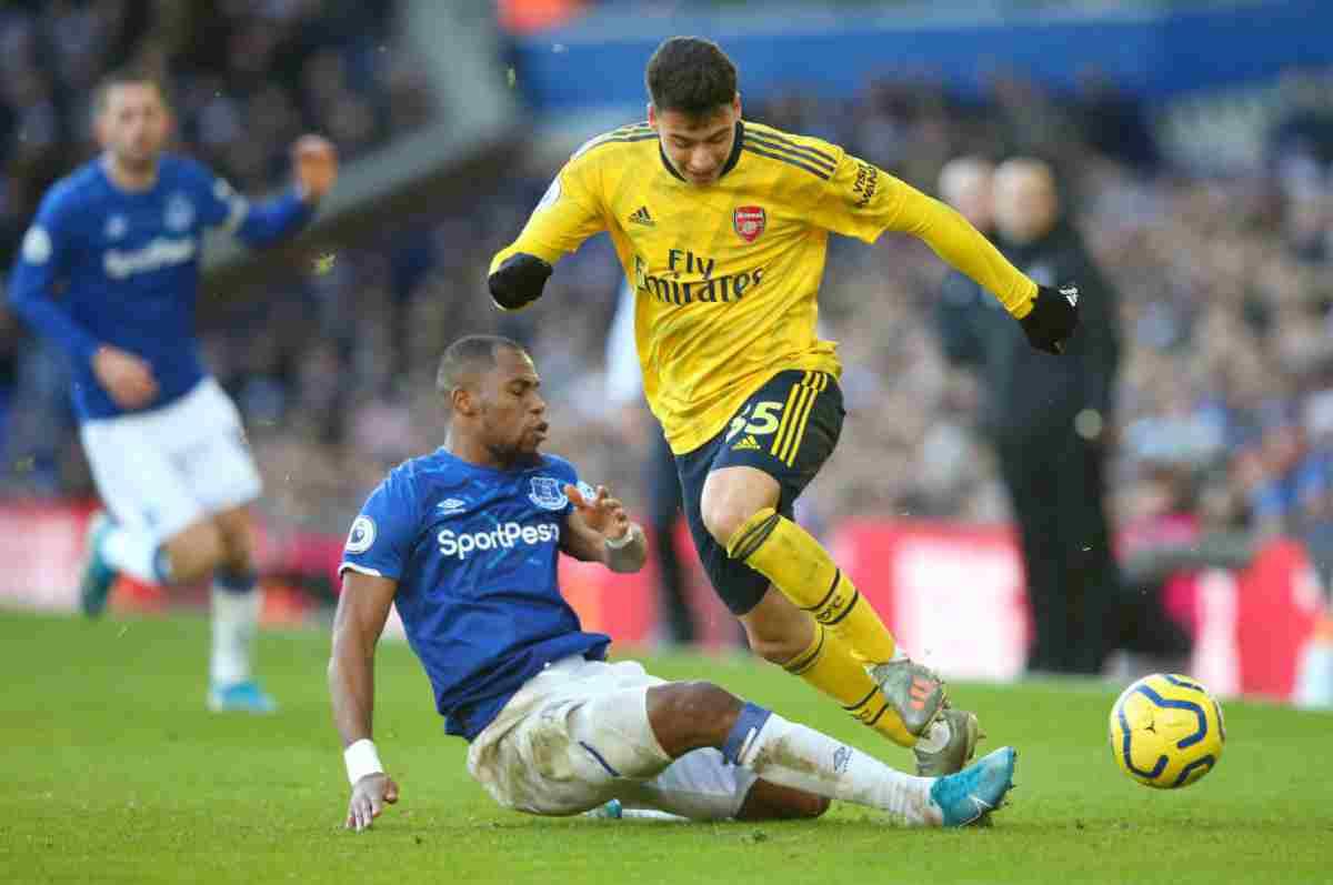 Premier League, risultati 22 dicembre: Everton e Arsenal non si fanno male