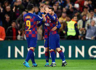 Liga: poker del Barcellona, schiantato l'Alaves