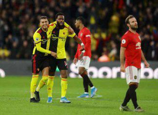 Premier League: crisi Manchester United, il Watford vince e torna a sperare