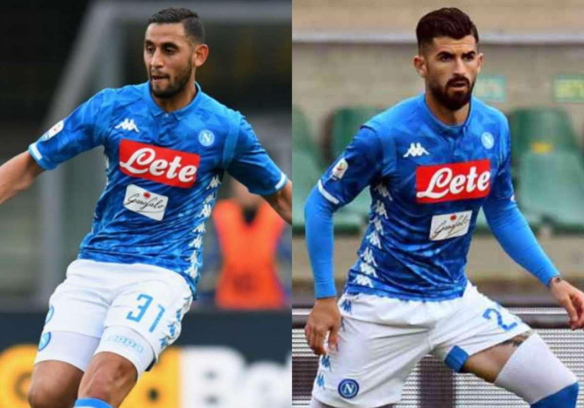 Ghoulam e Hysaj in uscita dal Napoli. Juventus e Inter coinvolte