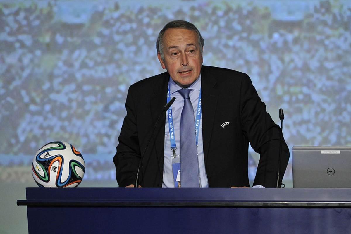 Giancarlo Abete nuovo commissario Lega Calcio