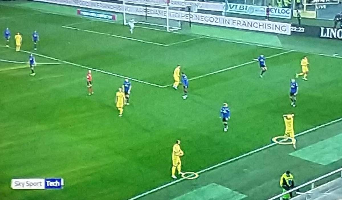 Atalanta Hellas Verona Moviola