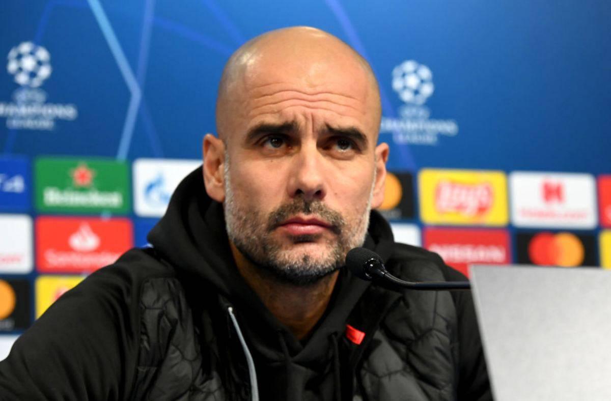 Guardiola smentisce l'annuncio della stampa inglese