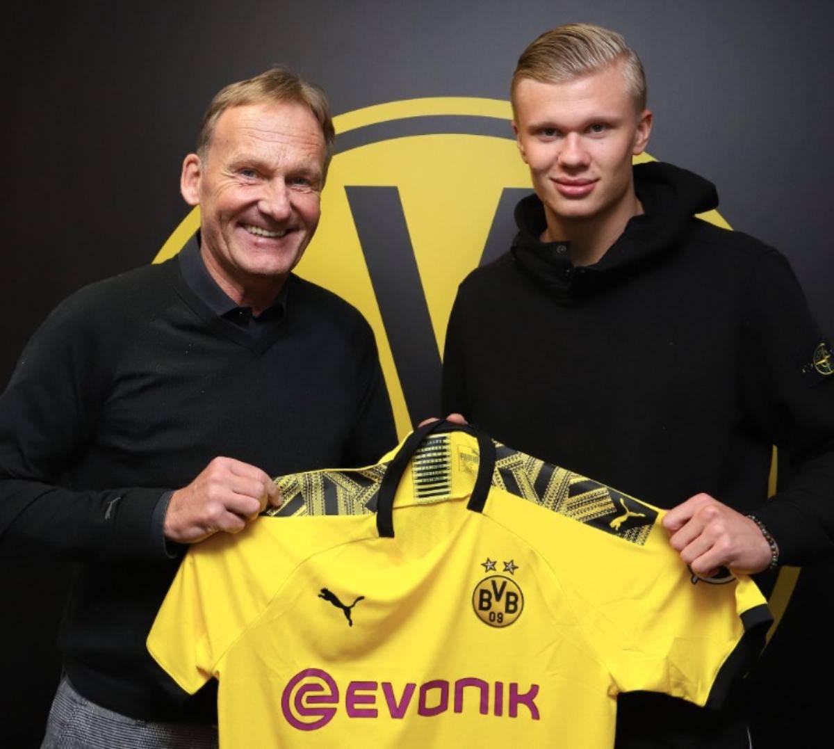 Haaland al Borussia Dortmund, è ufficiale: beffate Juventus e Milan