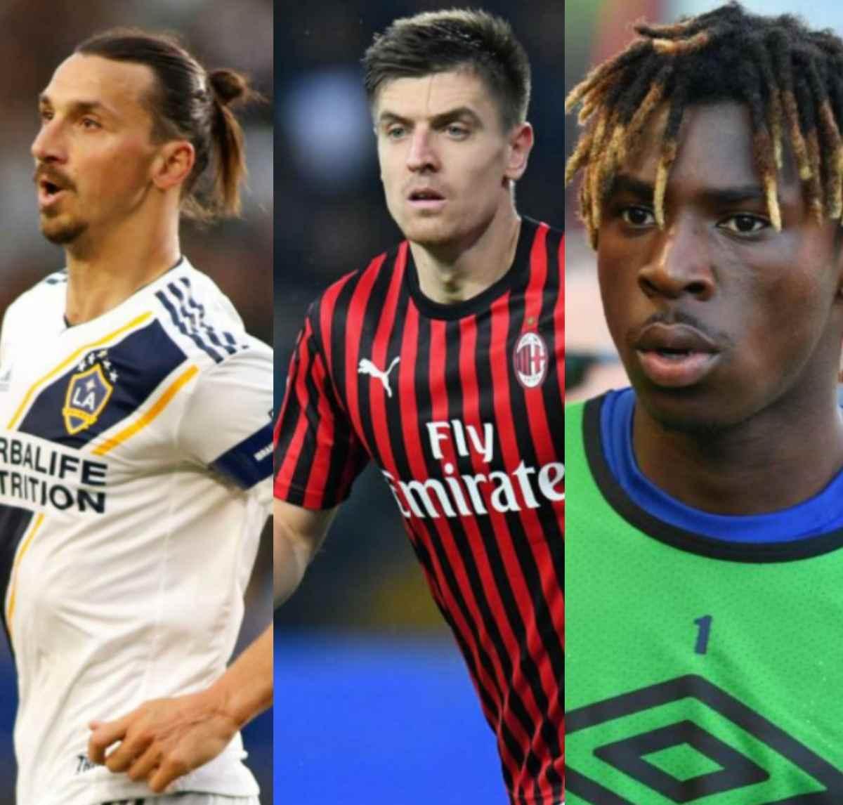 Ibrahimovic, Piatek e Kean, intreccio di mercato tra Milan e Bologna