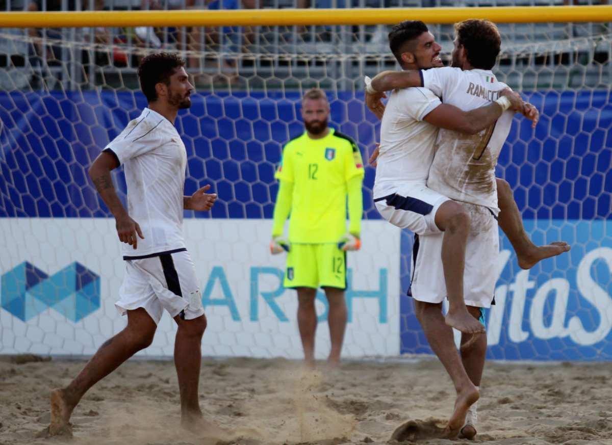Italia Portogallo Beach Soccer