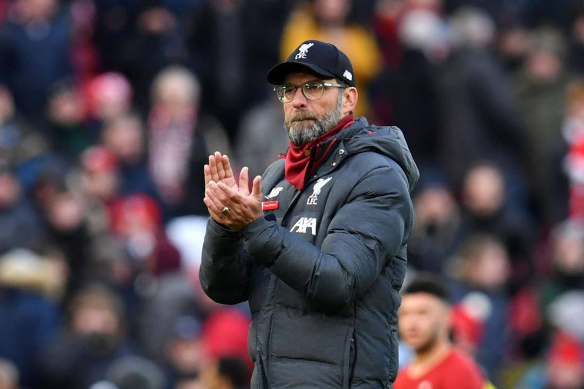 Jurgen Klopp, assente dal podio degli allenatori più pagati in Premier League