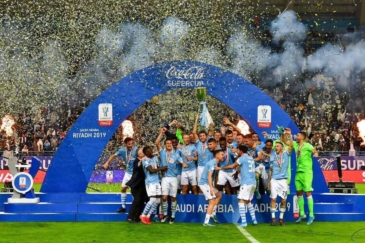 Lazio Supercoppa italiana (Getty Images)