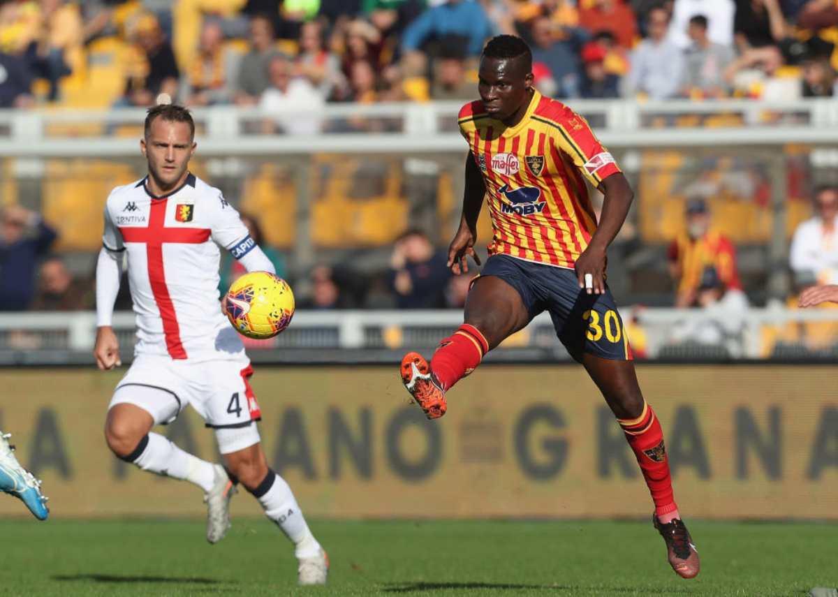 Lecce-Genoa highlights