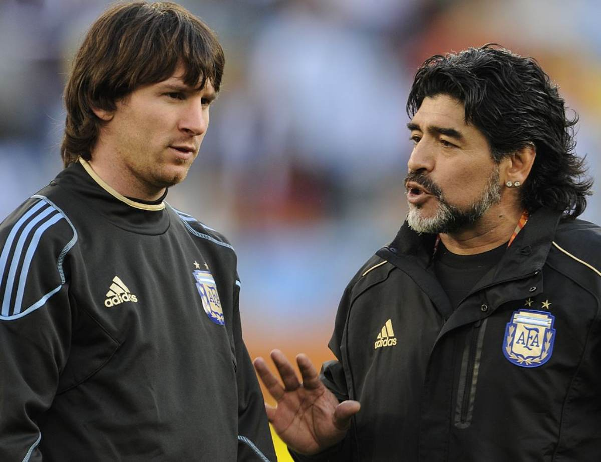 Maradona Messi Netlix