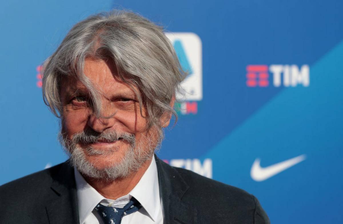 Massimo Ferrero, presidente della Sampdoria, squalificato dalla FIGC