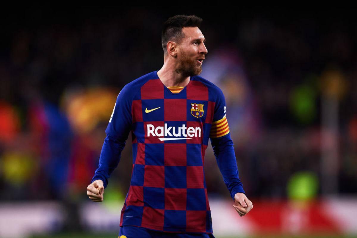 Messi vince il Pallone d'Oro
