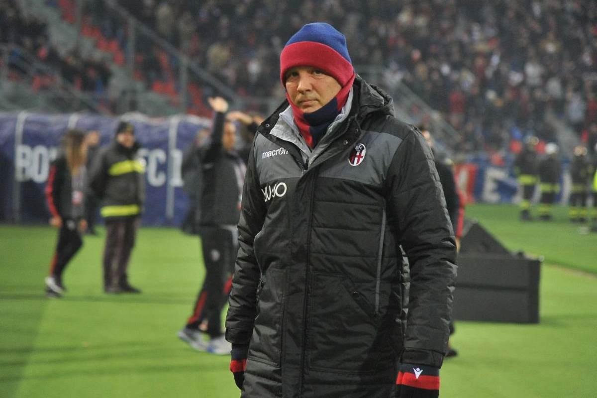 Mihajlovic ottimista alla festa del Bologna