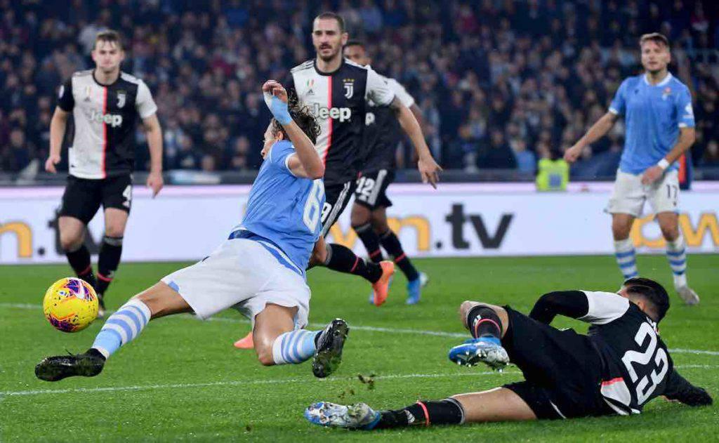 Moviola Lazio-Juventus