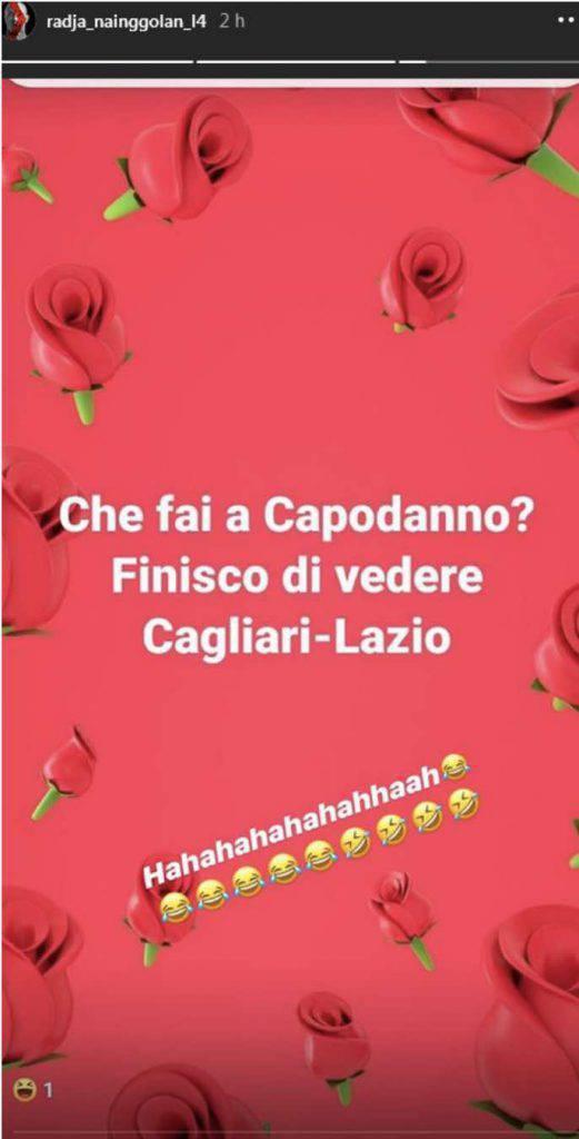 Nainggolan, provocazione social su Cagliari-Lazio